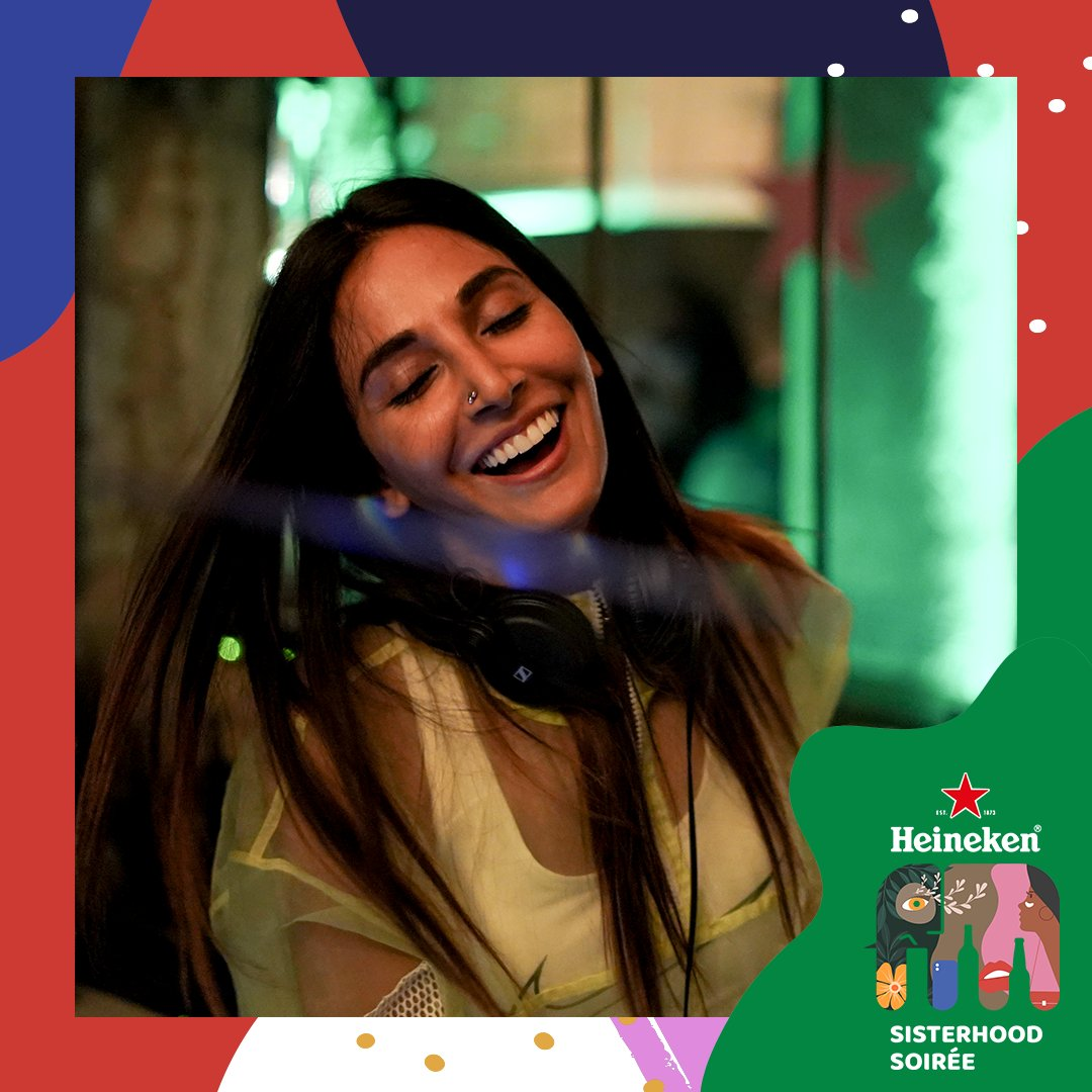 We managed to capture some beautiful memories from the #sisterhoodsoiree night in Delhi! We can't wait for party night number 3! Can you guess where? #Heineken #heinekenindia