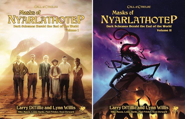 """Ha muerto Larry DiTillio. Los roleros le estaremos eternamente agradecidos por """"Las Máscaras de Nyarlathotep"""", una de las mejores campañas para un juego de rol de todos los tiempos. DEP."""