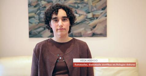 """Vega Asensio  ,ilustratzailea,disenatzaile zientifikoa ,doktorea eta EHUalumni: """"Ilustrazioek zientzia dibulgazioan mezua transmititzen laguntzen dute"""" #Zientzialari (110)  📌📌 http://ow.ly/dTYv30o3qjV"""