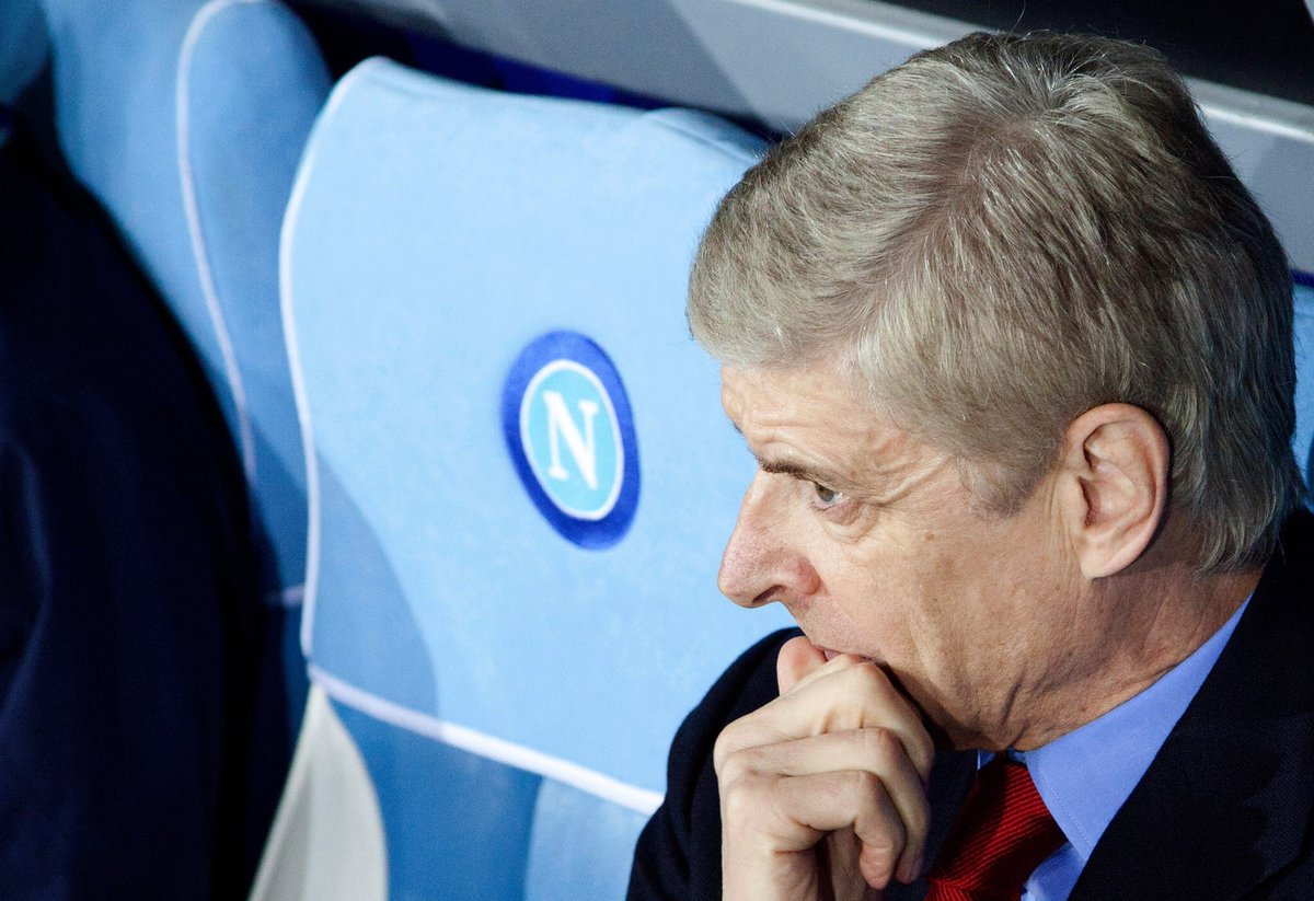 """Arsène Wenger on Arsenal's Europa League draw: """"I will be an Arsenal fan on the night of the game against Napoli, just as I have been during their matches this season."""" [Il Mattino] #afc<br>http://pic.twitter.com/wBIlDxUOKL"""