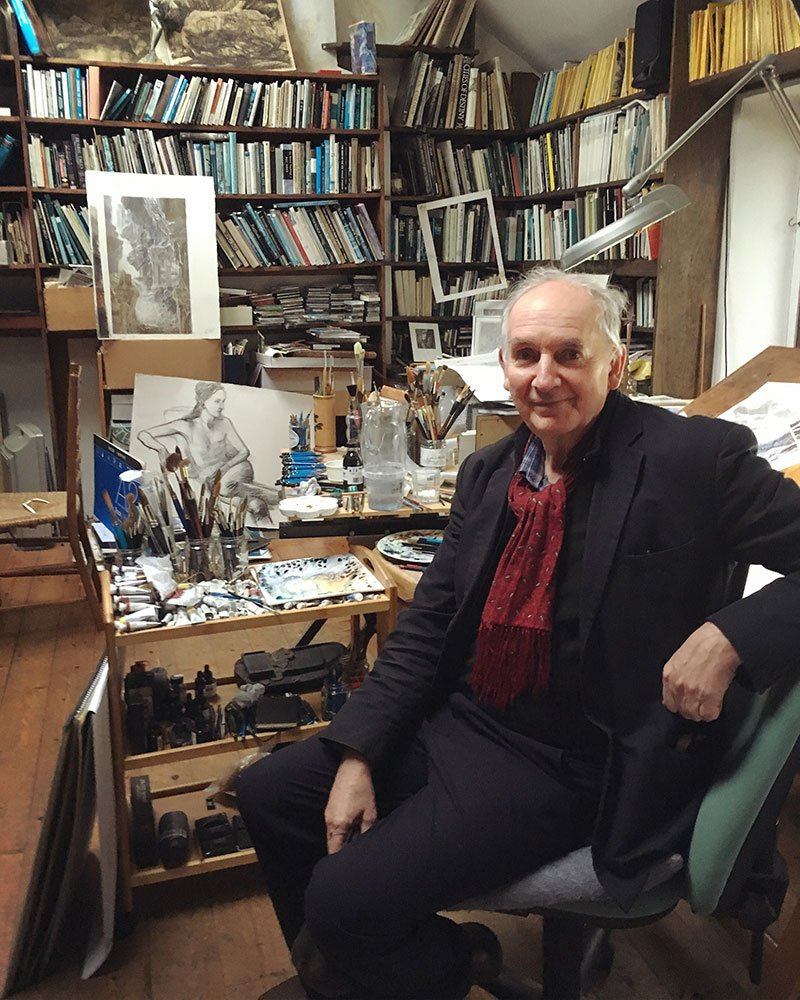A visit to Alan Lee&#39;s studio, new blog post:  https:// jabberworks.livejournal.com/828620.html  &nbsp;   (Thanks again for letting us peek at where you work, @AlanLee11225760!)  #AlanLee #illustration @philipreeve1<br>http://pic.twitter.com/nAuuAJjmyj