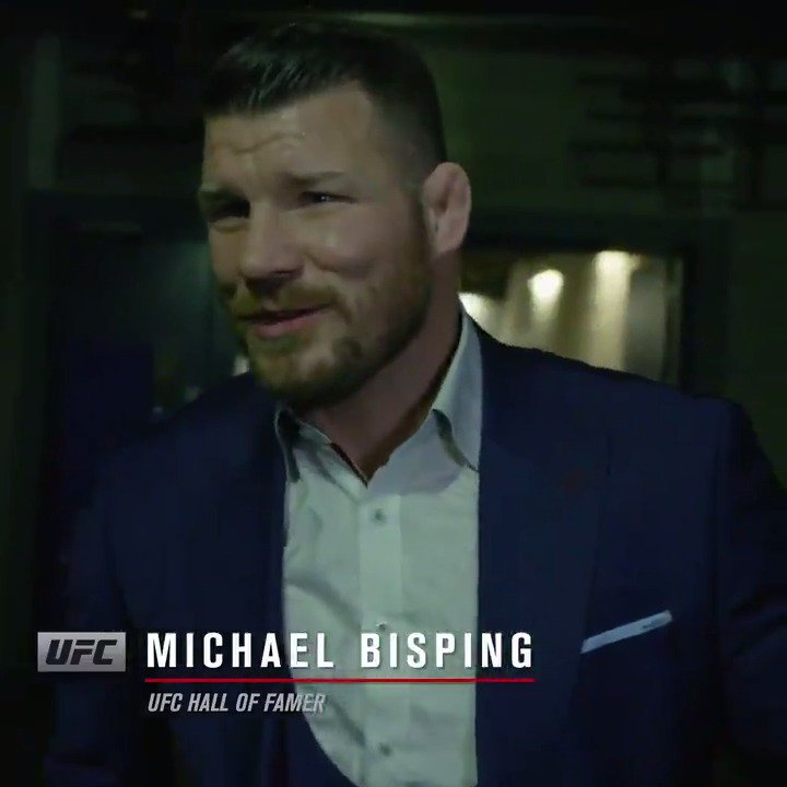 There's only one @Bisping! Congrats Buddah! 🙌