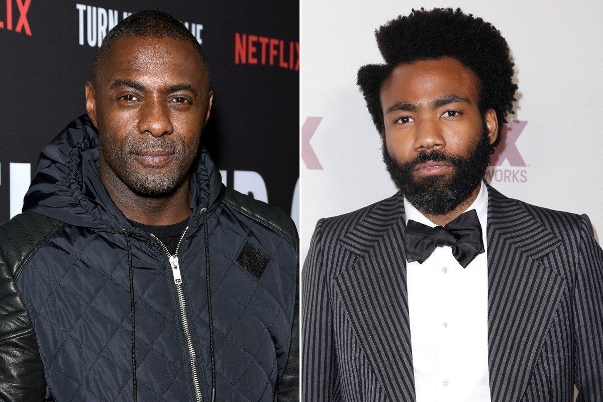 Idris Elba has it all, but still wants to be Donald Glover  https:// nyp.st/2EVcaVl  &nbsp;  <br>http://pic.twitter.com/C3XbQcmuTg