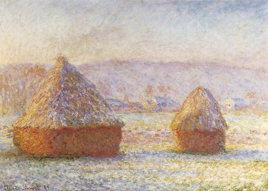 """""""Haystack"""" Monet"""