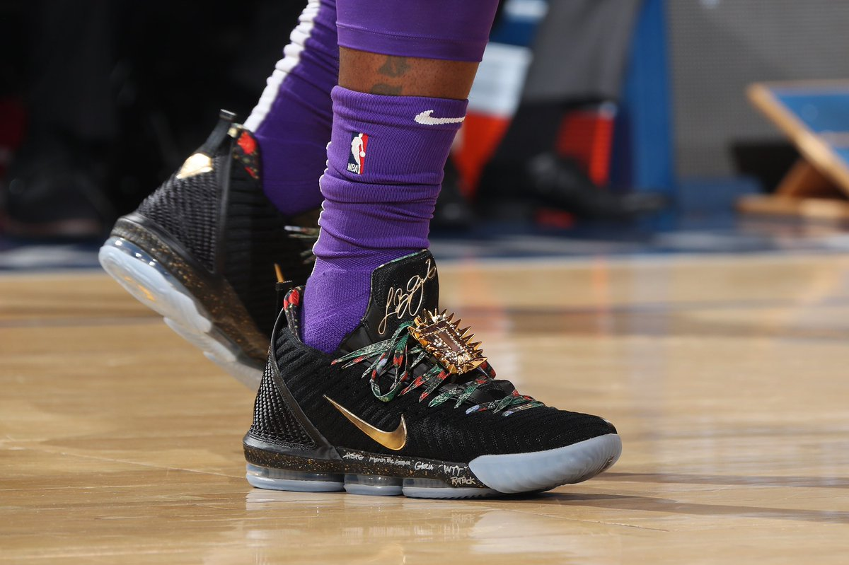 "Throne"" Nike LeBron 16"