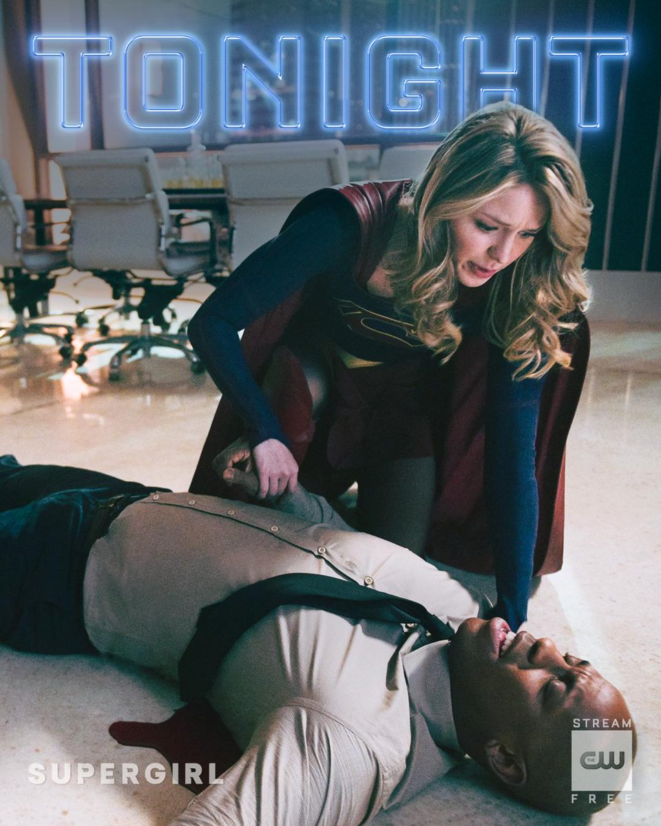 It's a race to save her friend. New #Supergirl TONIGHT at 8/7c on The CW!
