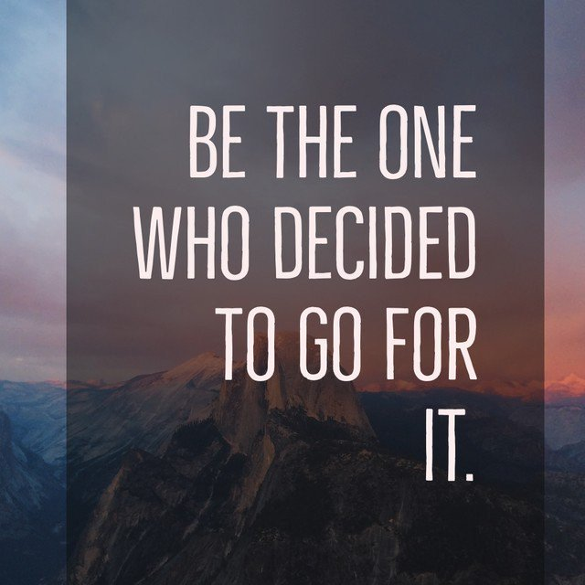 It might as well be you #quote #success #luck #freedom