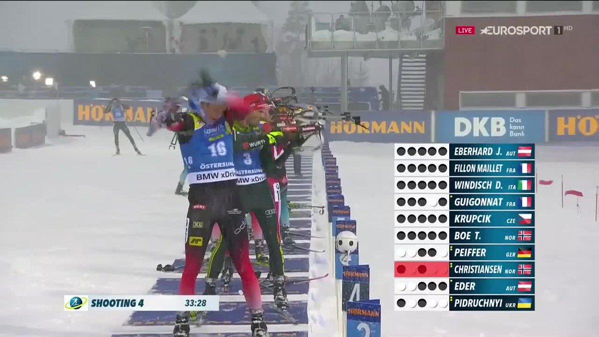 Dominik Windisch campione del mondo: da 13° a primo con un ultimo poligono PAZZESCO! 😱🇮🇹  #2019Ostersund | #Biathlon https://t.co/pjB8L9rDe3