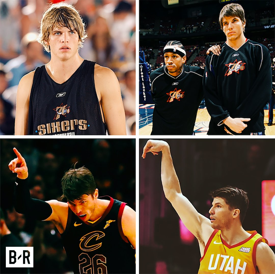 In 2003, the Nets drafted Kyle Korver 51st and traded him for $125K.  They used it for their summer-league fee and a copy machine.  Today he turns 38 as one of the greatest shooters of all time.