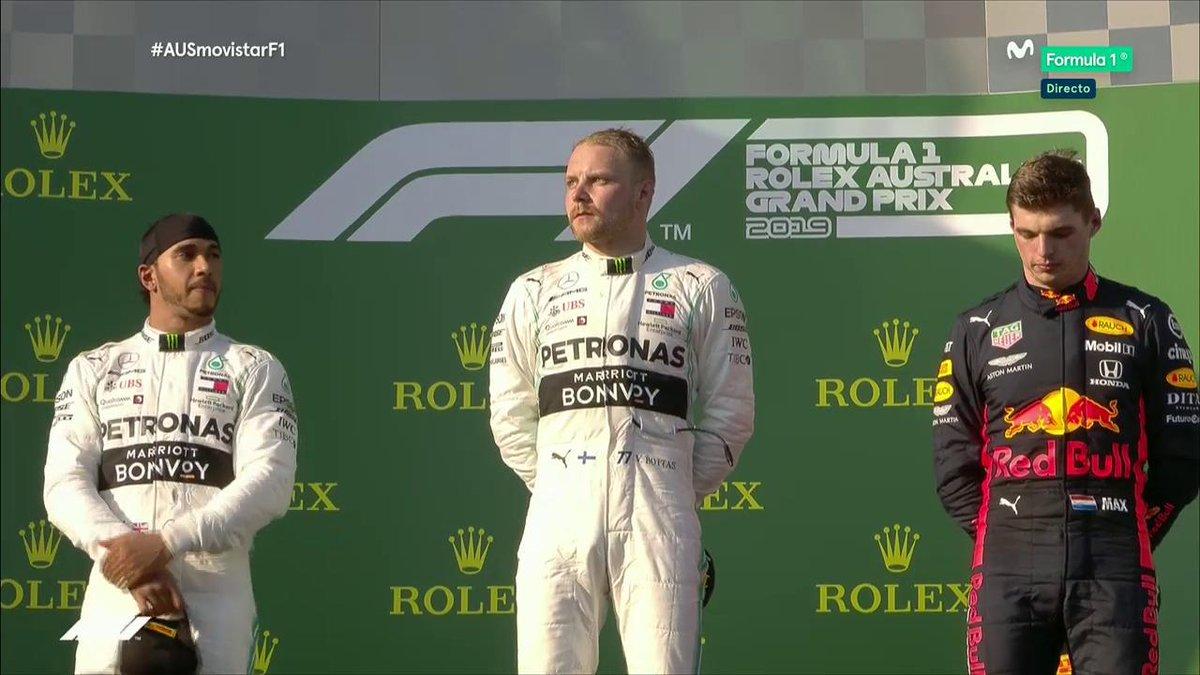 #F1 | Bottas se llevó la primera de la temporada en Australia