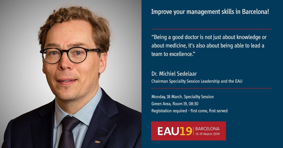 European Association of Urology (EAU)'s photo on #EAU19