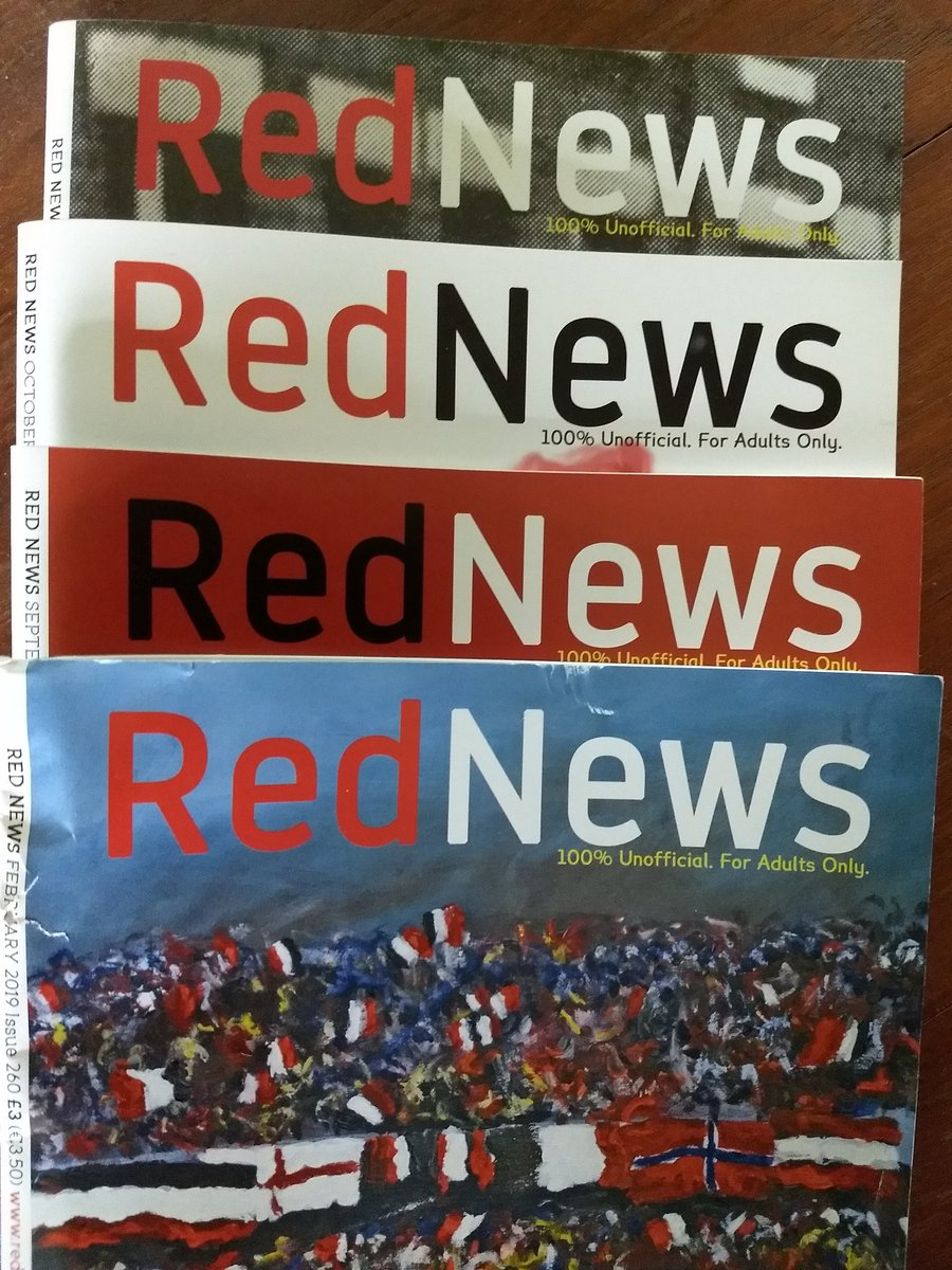 """Big """"Thank You"""" to Barney n the lads @barneyrednews for sending my 85 yr old Father his 'Red News' read up here in remote south west Scotland. He's lovin em 👍👍 'Forever United'🔴⚪⚫ @ManUtd @ManUtdUSA #MUFC #MUFC_FAMILY @EmiratesFACup #GGMU #SaturdayMorning @PLinUSA @BBCSport"""