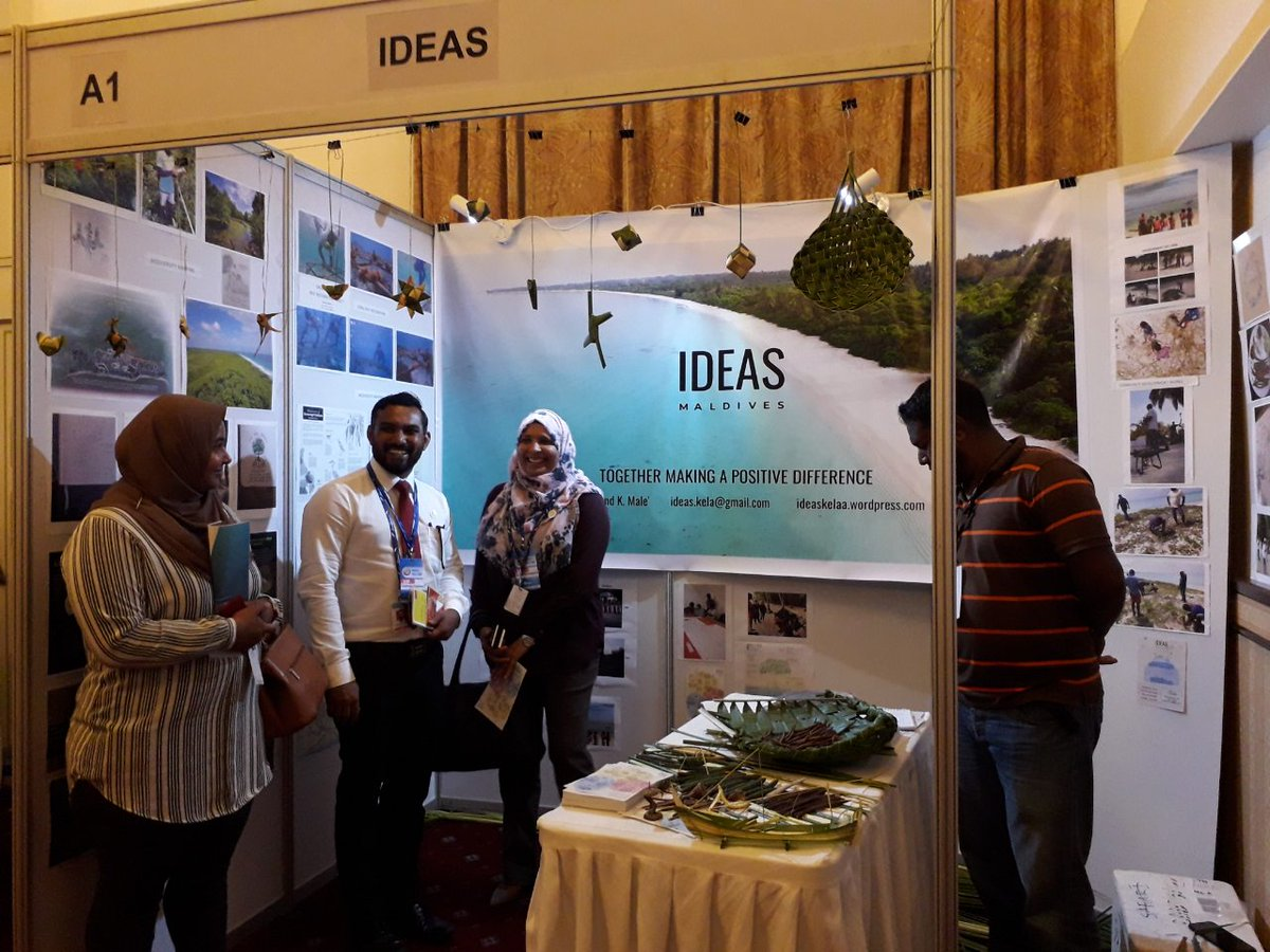 Thanks @MoosaWaseem  for visiting our stall at @havalimv . Hope you enjoyed kandoo and kandoo products.  #Havali2019 #Havali #Mangroves #wetlands