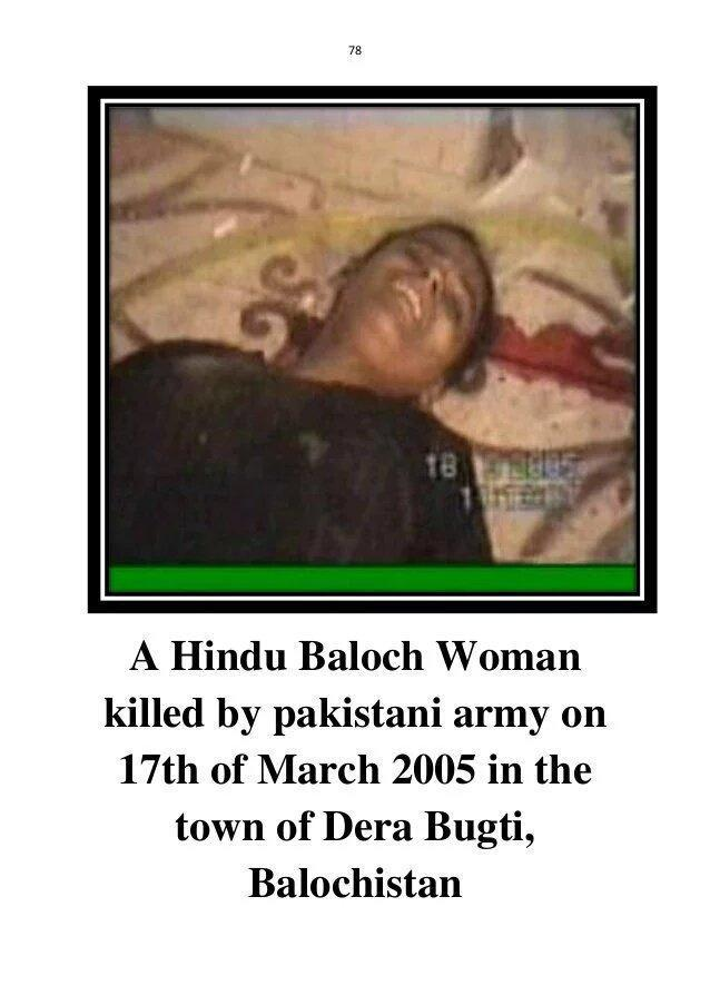 Hindu Baloch men and women, young and old on 17 March 2005 when Pakistan army attack Dera Bugti. #17MarchMassacre  #BalochistanIsNotPakistan <br>http://pic.twitter.com/JbAaeOs6tE
