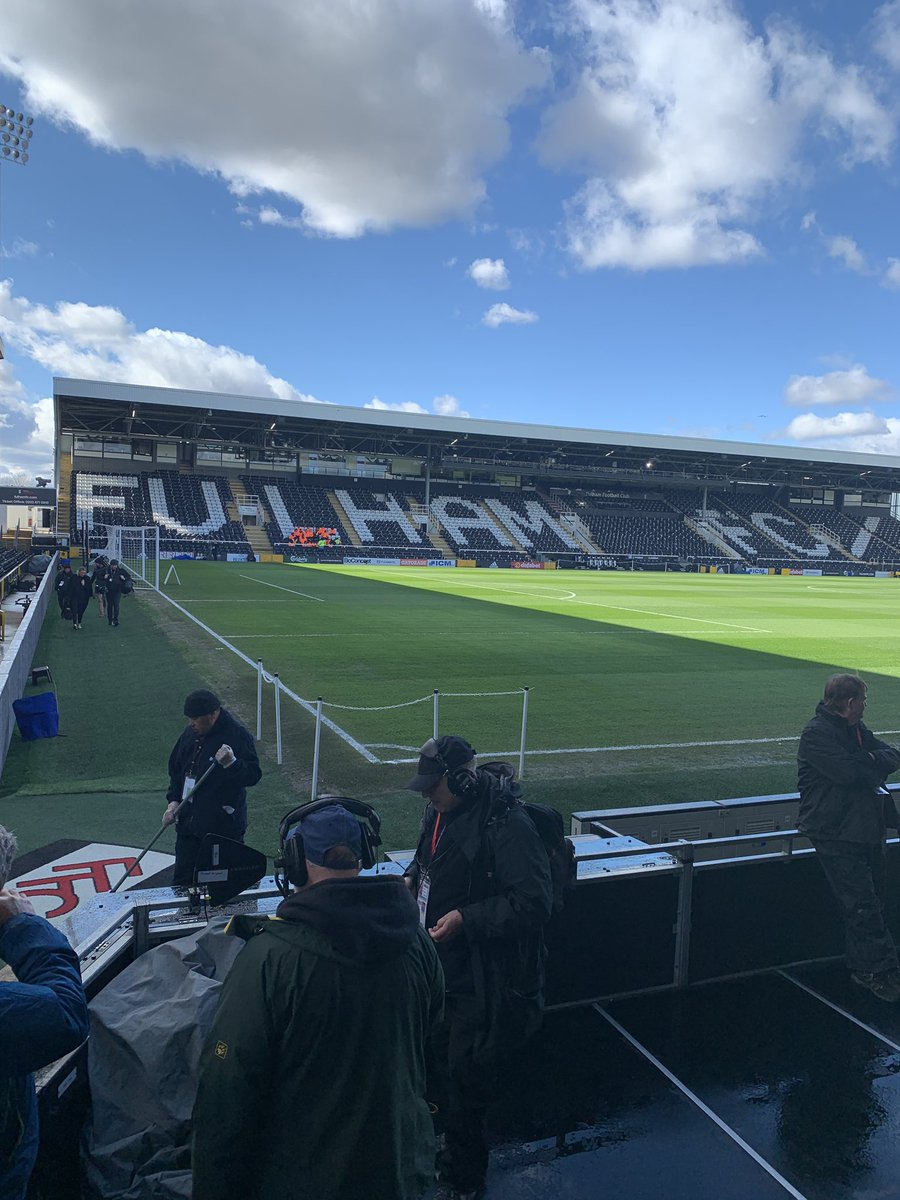 Where am I??  Fulham Liverpool 1:30 @SkySportsPL