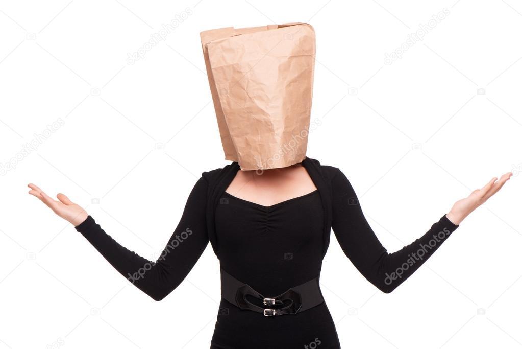 обернулся маме, видео девушка с пакетом на голове крошку гвен своей