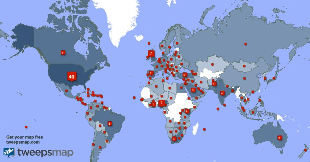 I have 92 new followers from Bangladesh 🇧🇩, and more last week. See tweepsmap.com/!JustTonyD