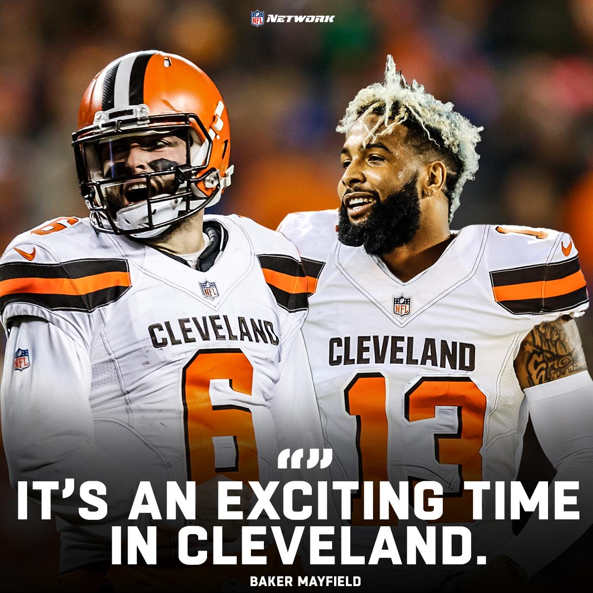 .@bakermayfield knows the city of Cleveland is rockin&#39; after adding @obj <br>http://pic.twitter.com/MVTscpW345