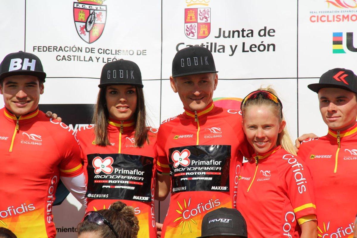 Festival de podios para Primaflor-Mondraker-Rotor en Valladolid. Esta tarde, crónica y declaraciones en la web del equipo.  #OpenEspañaXCOcofidis19
