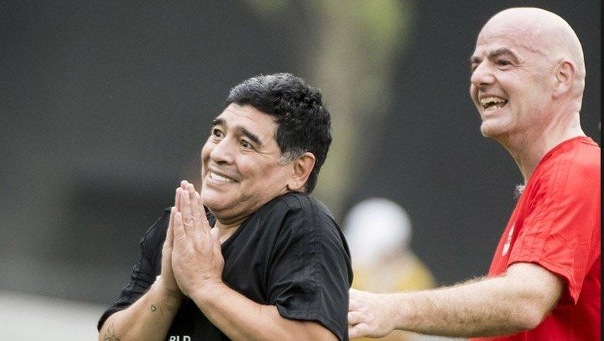 Ovación's photo on Infantino