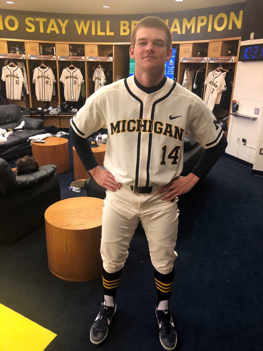 on sale d4c33 2d318 Michigan Baseball on Twitter: