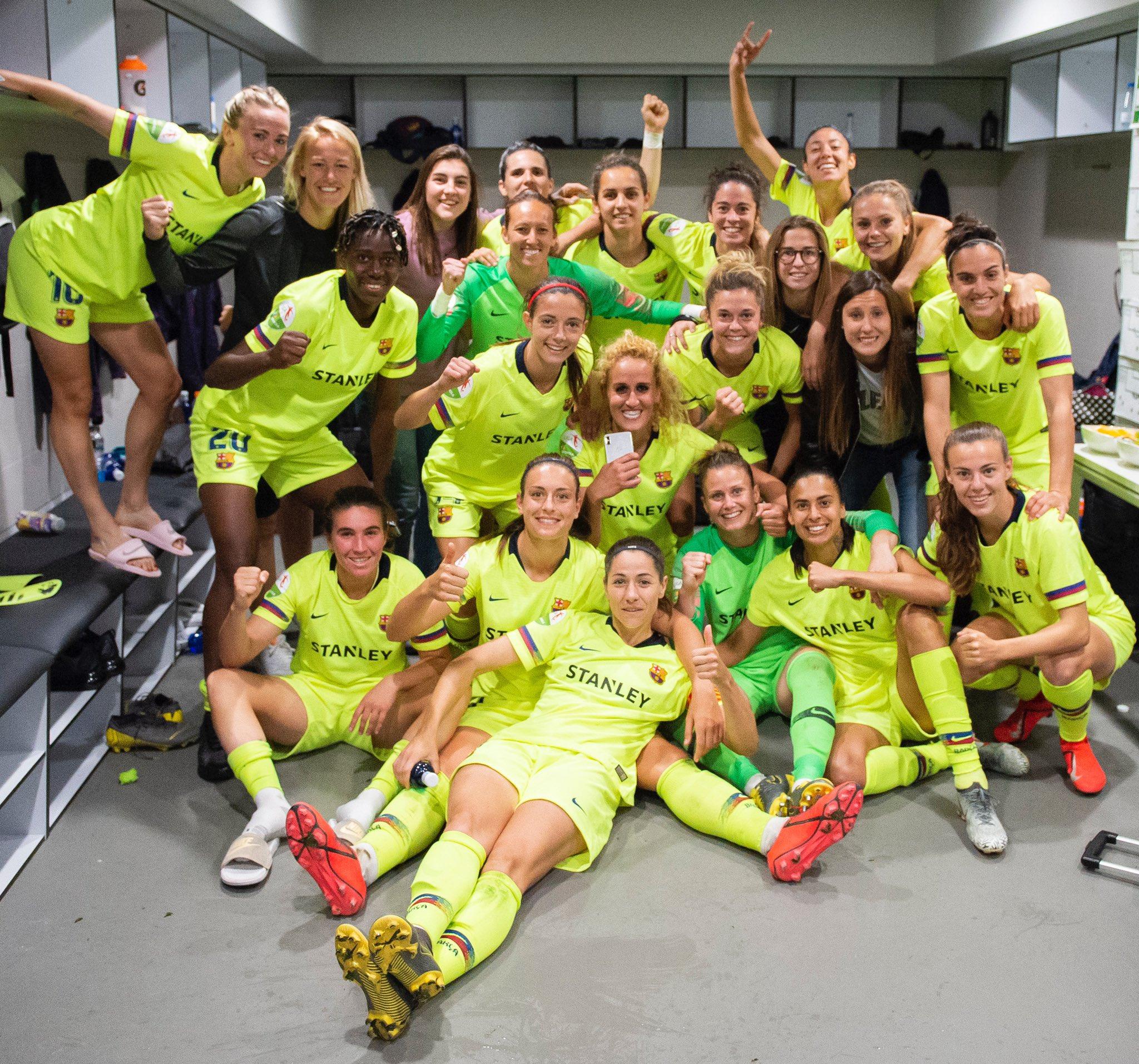 �� Great win for @fcbfemeni vs Atletico de Madrid in a full Wanda Metropolitano �� https://t.co/PqPjxwpMDh