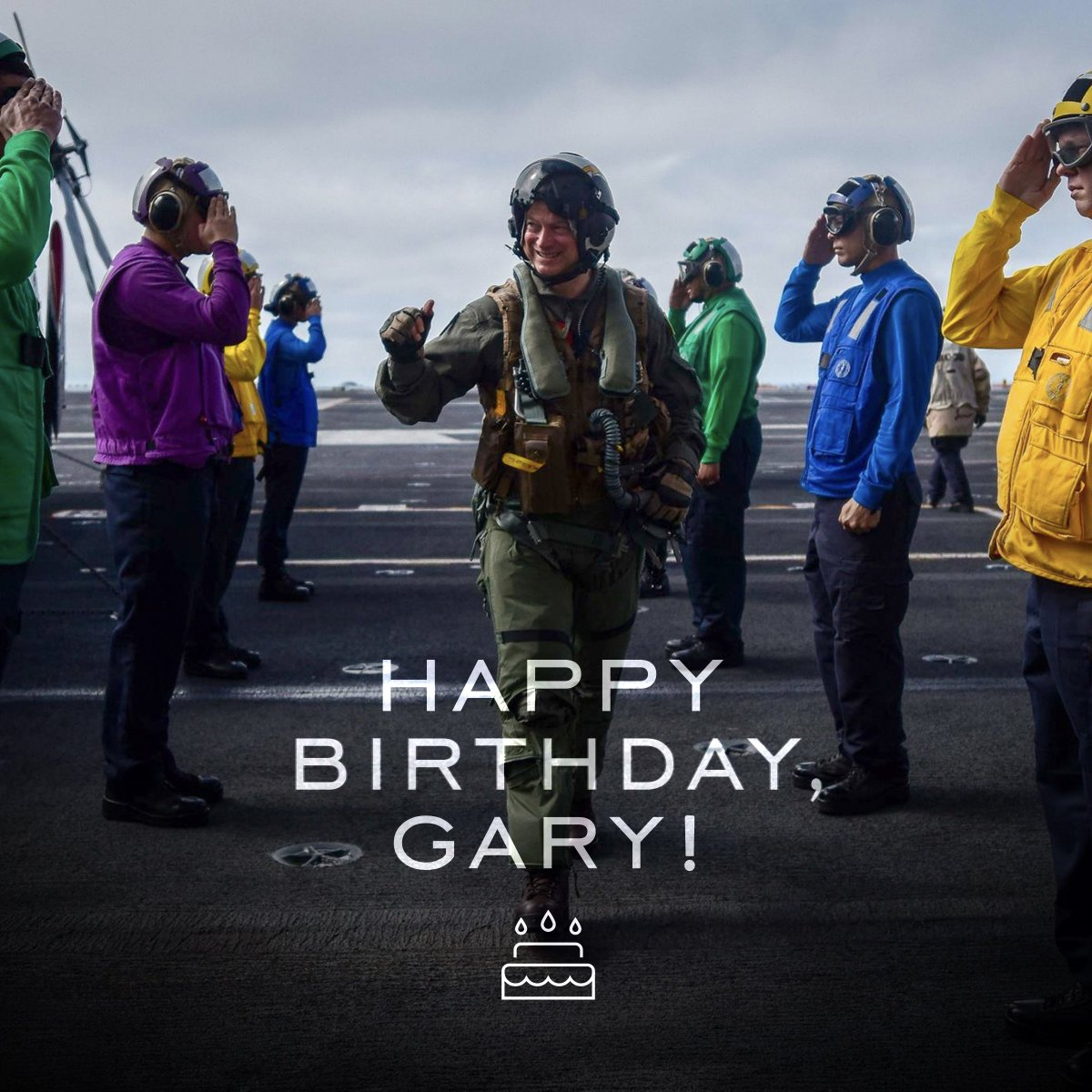 We don't call it #stpatricksday. No, we know it as Gary's Birthday! Happiest of birthdays to our founder & Chairman. RT with your birthday message 🎂