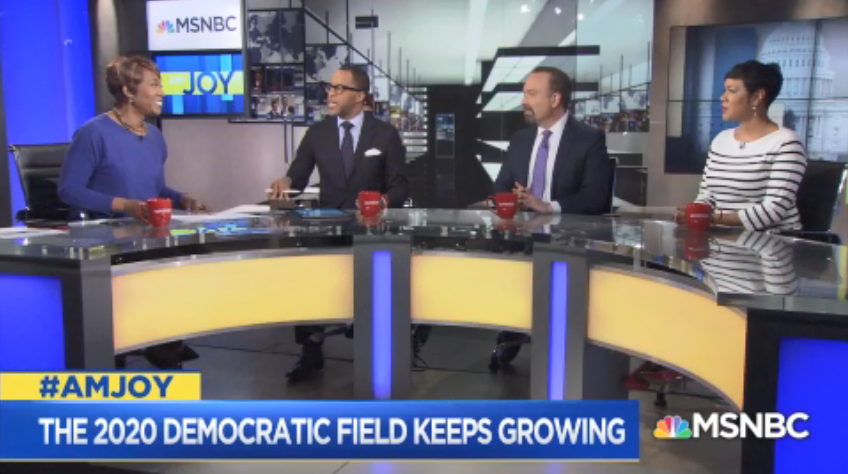 .@CapehartJ: You ask Mayor Pete [Buttigieg] any question on any issue and he will give you without any ums or ahs. I would love to see the kind of the kind of substance we are getting from Mayor Pete come from Beto O&#39;Rourke. #AMJoy <br>http://pic.twitter.com/f0I7gk0rmS