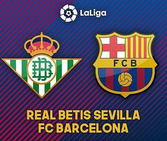 🏆 @LaLiga 🏅 Jornada 28 ⚽ @RealBetis 🆚 @FCBarcelona_es ⏰ 16:45 Hs 🇦🇷 🏟️ Benito Villamarín 📺 @DIRECTVSports  📲 #BetisBarça 🔵🔴 #ForçaBarça