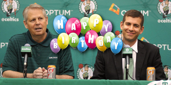 Happy Birthday to the man who always has a plan, Danny Ainge