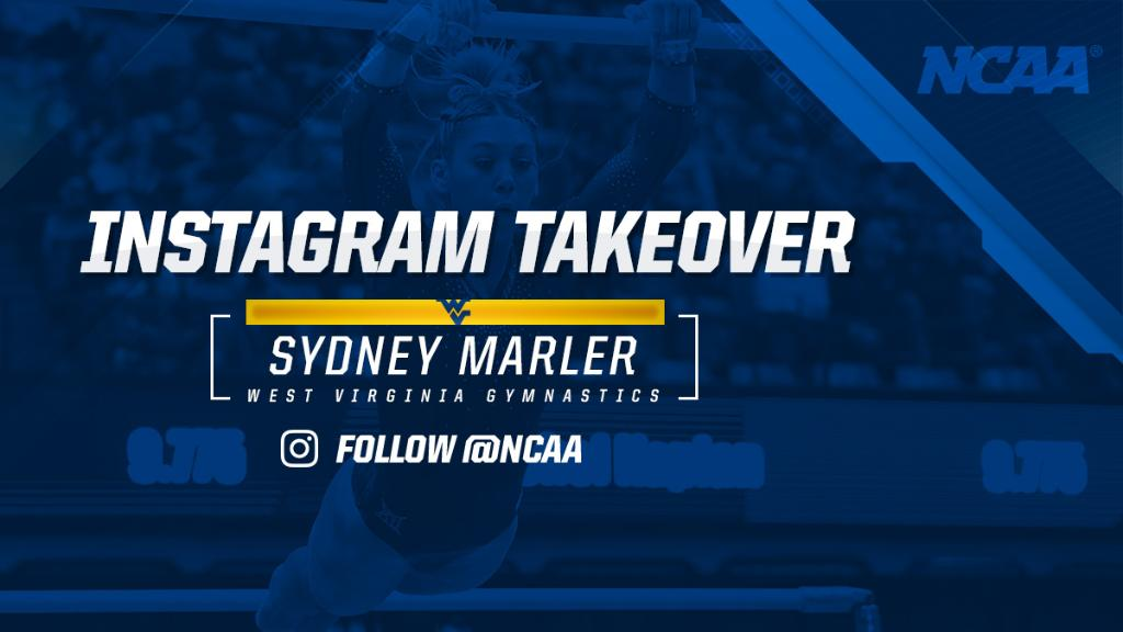 Follow NCAA on Instagram as Sydney Marler of @WVUGymnastics takes over the story!