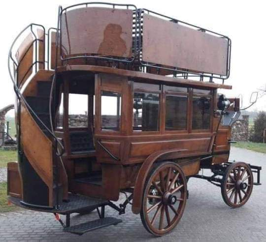 Horse drawn bus from the 1890's
