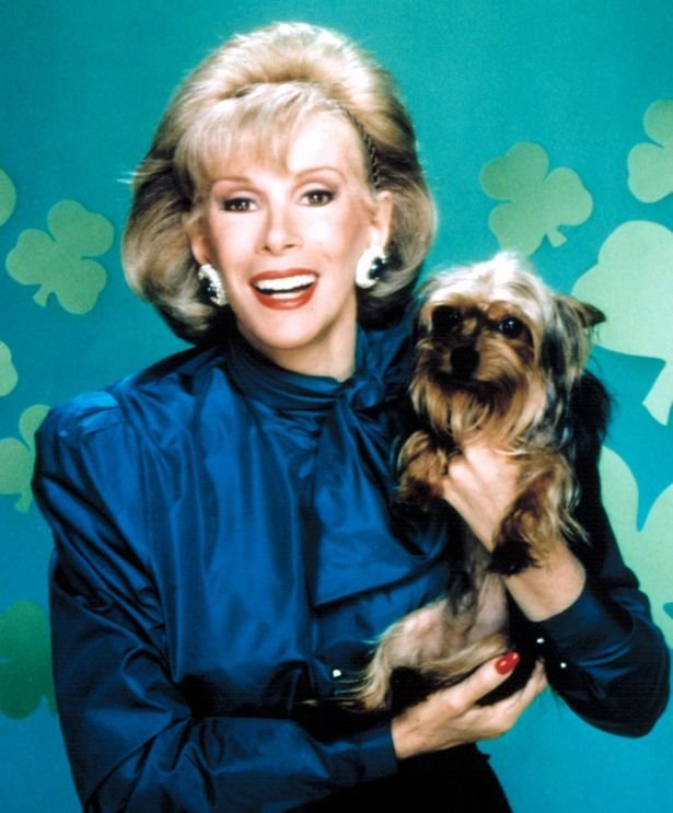 Happy St. Patrick's Day from Joan and her legendary dog, Spike!