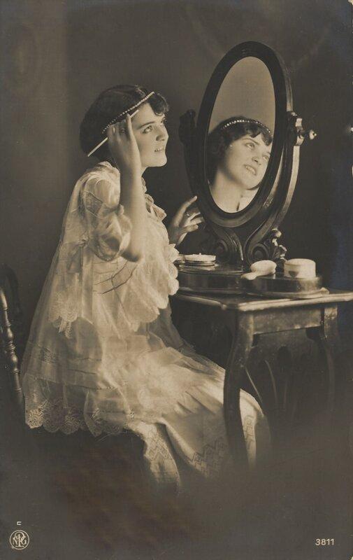 Открытки с зеркалами