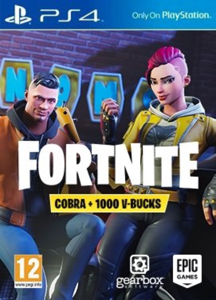 fortnite news on twitter new bundle for playstation includes cobra crew set 1000 v bucks fortnite set 1000 v bucks fortnite