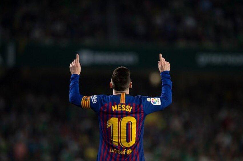 هدف برشلونة الثاني في مرمى بيتيس عن طريق ميسي