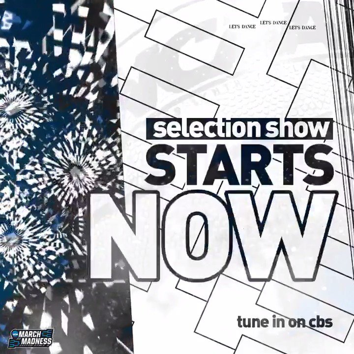 🚨 THE WAIT IS OVER 🚨  The Selection Show starts NOW! #SelectionSunday