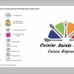 Image for the Tweet beginning: Info cuisine Sainte Ursule👨‍🍳: menu