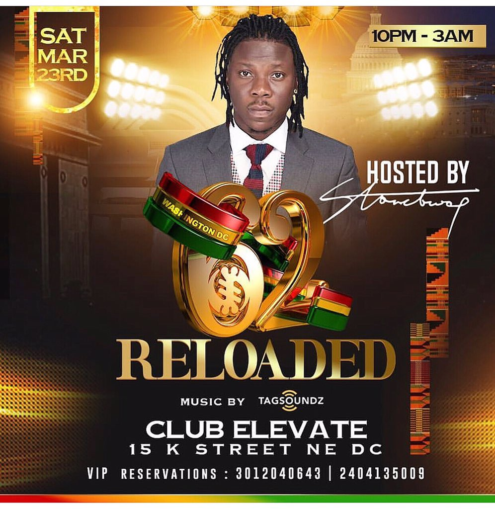 DC We Shutting It Down This Saturday. Quick Hosting By The Topmost Skanka @stonebwoyb Inside CLUB ELEVATE 15 K STREET NE DC. You Already Know How We Do It When #BhimNation Steps In. Roll Out And Dont Miss!! <br>http://pic.twitter.com/YtL49XzT0W