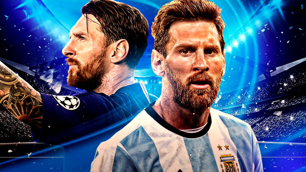 Can Messi win the UCL and Copa this year? I'm pretty sure he can!🐐 ❤️&🔁's are much appreciated!