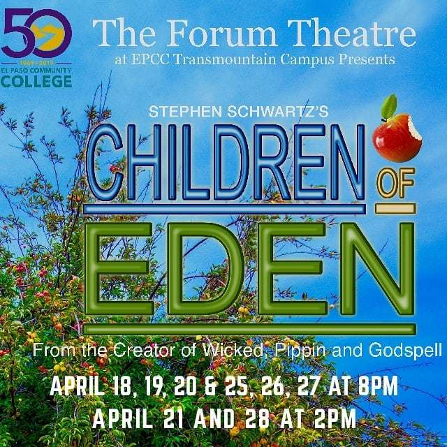 Don't miss this beautiful show!  #childrenofeden #elpasotheatre #theforumepcc #backtosinglelife #latinaactress https://www.instagram.com/p/BvHf1QcBCa9J0oaU9t2T9hWrxmffWrhxlM9cww0/ …