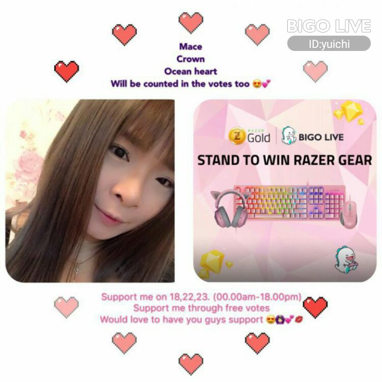 Come and see Šͥ•F 歪ͣ歪ͫ����'s LIVE in #BIGOLIVE: VOTE FOR ME❤️��   https://t.co/E7yzHDOfOq https://t.co/JEplpbPjZf