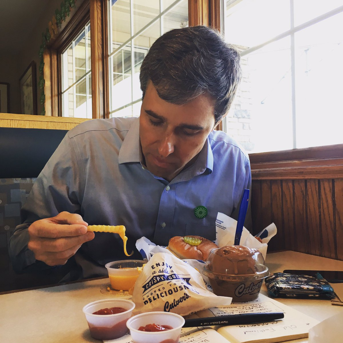 Back in Wisconsin. Back at Culver's.