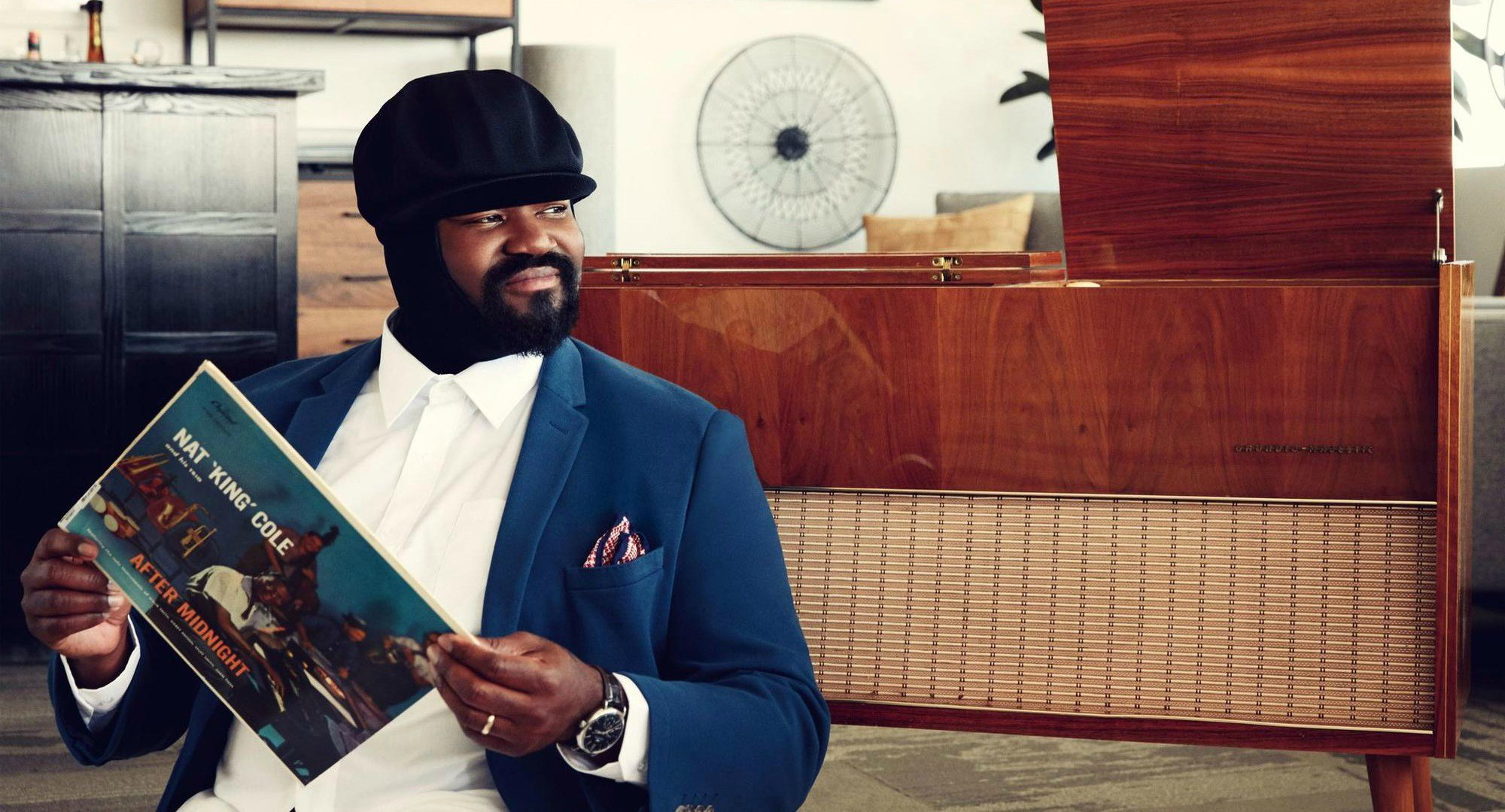 As we celebrate #NatKingCole today on what would have been his 100th birthday, we're revisiting @GregoryPorter's reflections on the icon's legacy | Read our interview by @Journalistorian + discover his five favorite @natkingcole albums: bit.ly/2Hrx9mi @bluenoterecords