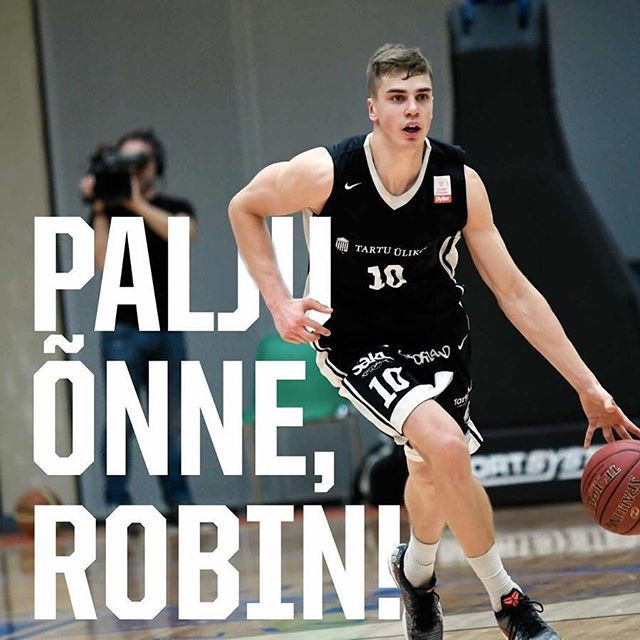 test Twitter Media - Ümmargused 20. eluaastat täituvad täna meie väsimatul ääremängijal Robin Kivil. Palju õnne, Robin!  Kui ühined meie õnnesooviga, siis ikka ❤️ #unitartubasket #tartuülikool #basketball https://t.co/wI678doLEX https://t.co/kTmnA0lbSY