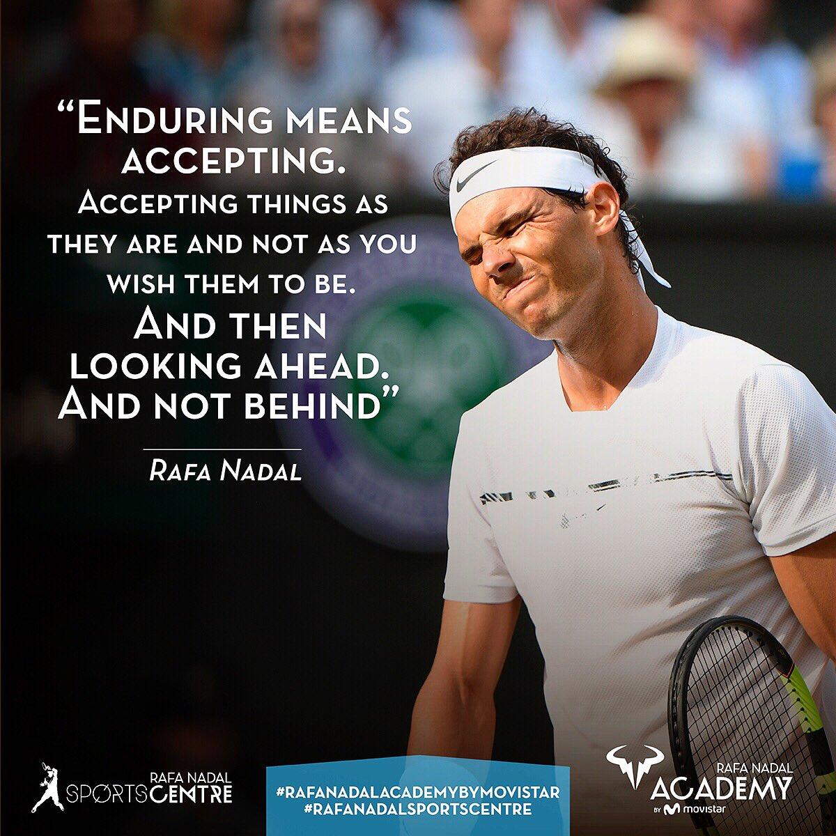 Rafa Nadal Academy By Movistar On Twitter Rafaelnadal Rafanadalacademy Values