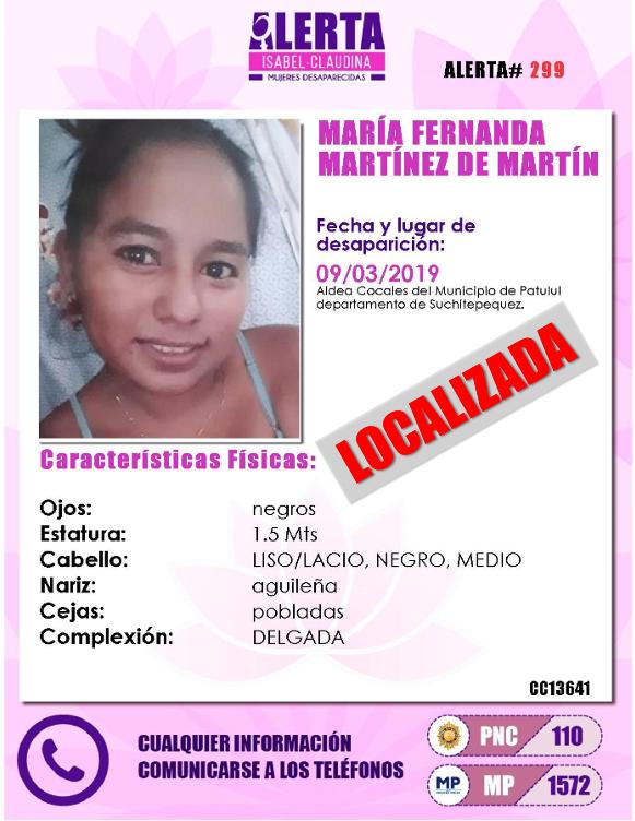 Alerta Isabel Claudina 🇬🇹's photo on Acevedo
