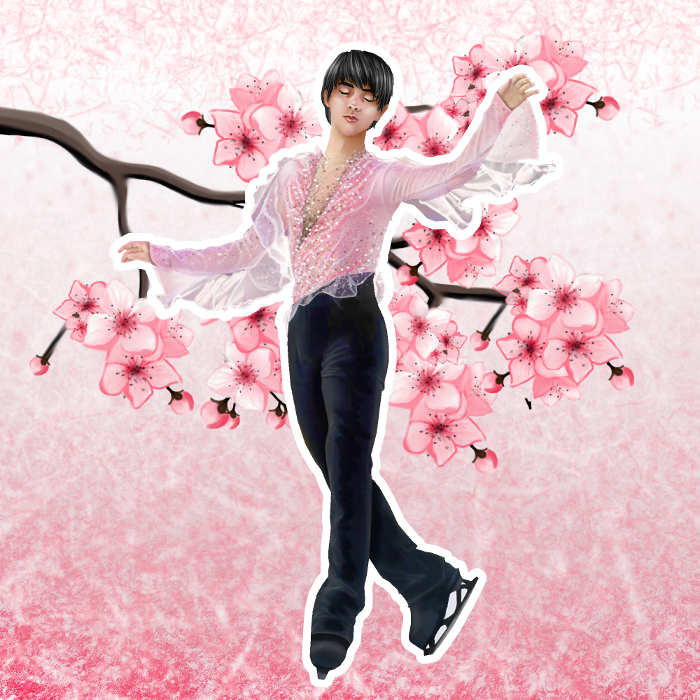 Last part of my Yuzuru #Worlds2019 series ! Spring is upon us   #YuzuruHanyu #羽生結弦 #GetWellSoonYuzu #fanart #HaruYoKoi<br>http://pic.twitter.com/PnI1kPzN8J