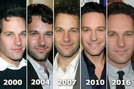 Image result for paul rudd unaging