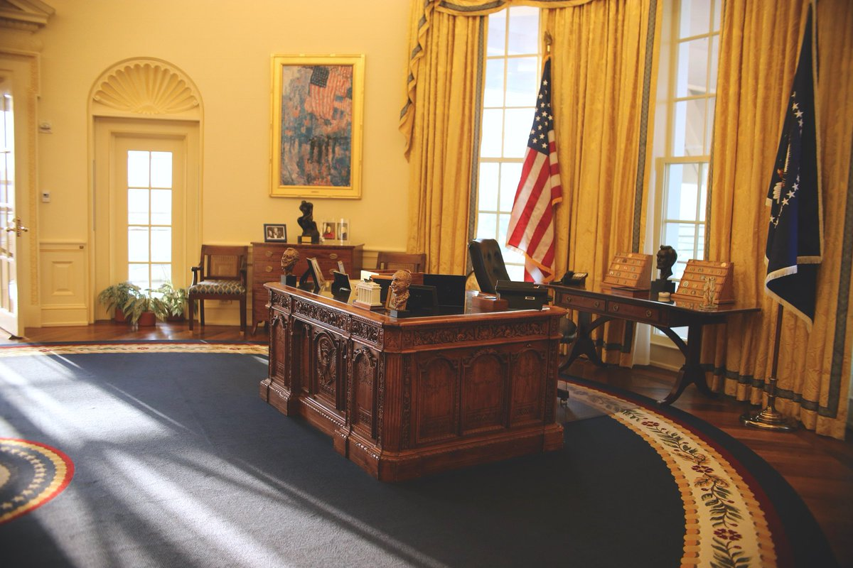 Visiting Central Arkansas for Spring Break? Make a stop at the Clinton Center and see replicas of the Oval Office and the White House Cabinet Room, and tour our three temporary exhibits!  Plan your visit today: http://wjcf.co/visit